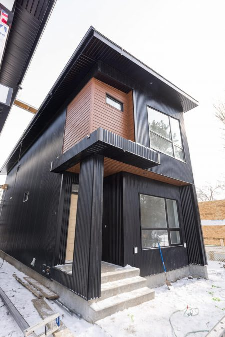subdivided detached home exterior