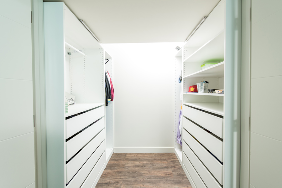 spacious built in closet in ottewell