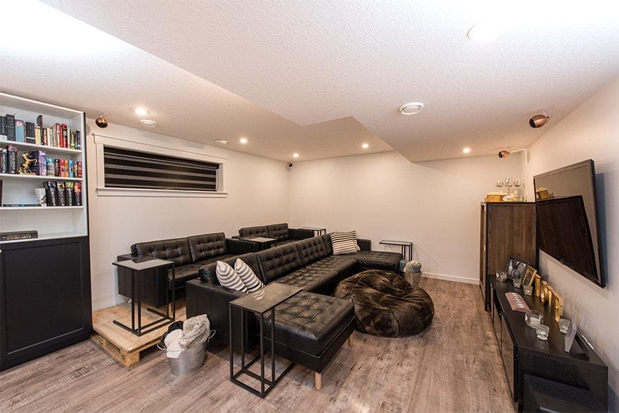 bonus basement room
