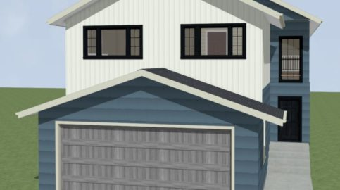 Single-family-home-with-attached-garage